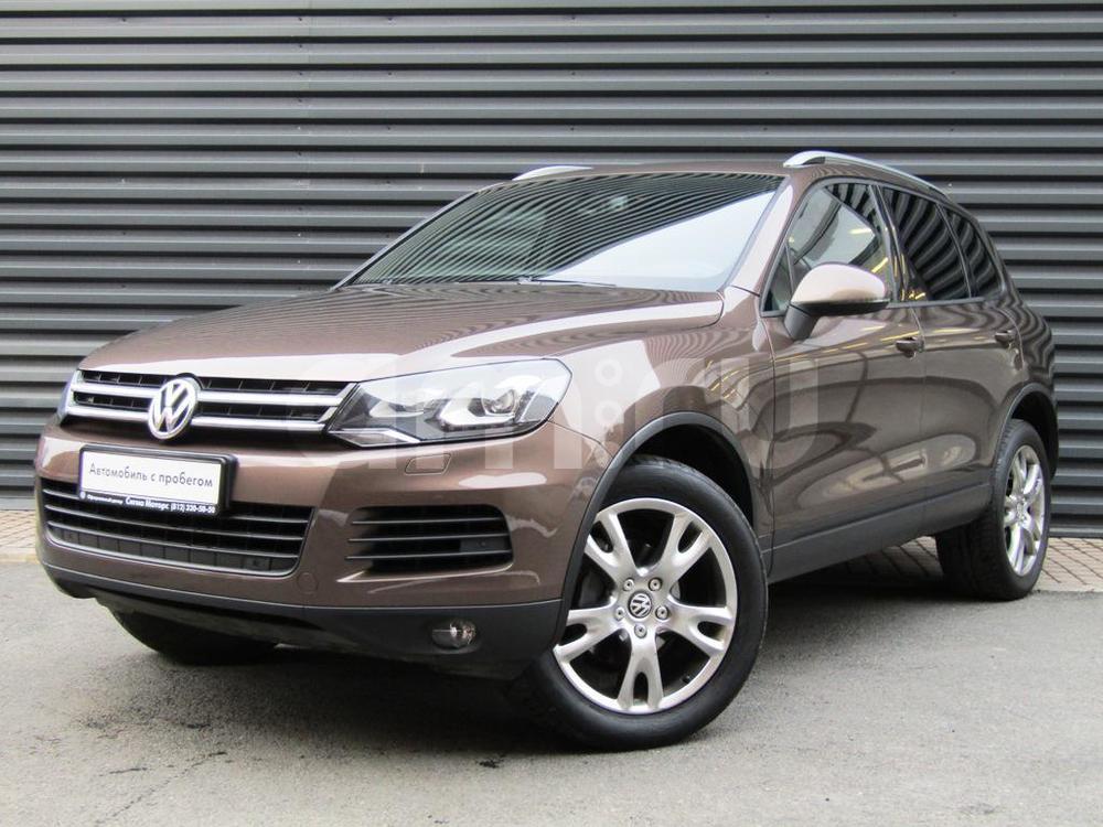Volkswagen Touareg с пробегом, коричневый , отличное состояние, 2010 года выпуска, цена 1 290 800 руб. в автосалоне  ()