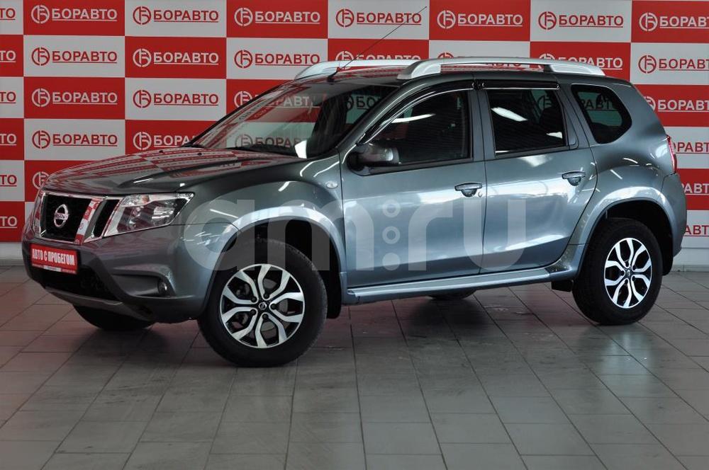 Nissan Terrano с пробегом, серый , отличное состояние, 2016 года выпуска, цена 885 000 руб. в автосалоне БОРАВТО Эксперт Борисоглебск (Борисоглебск, ул. Матросовская, д. 127)