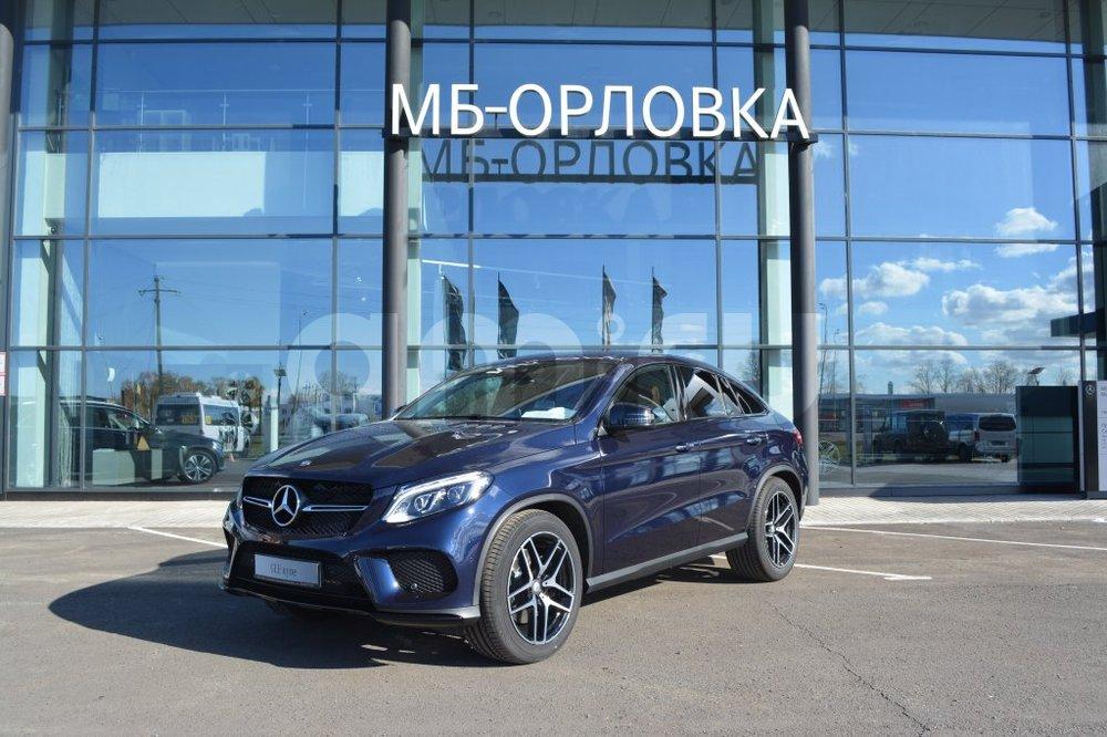 Новый авто Mercedes-Benz GLE-Класс, синий металлик, 2016 года выпуска, цена 5 780 000 руб. в автосалоне  ()
