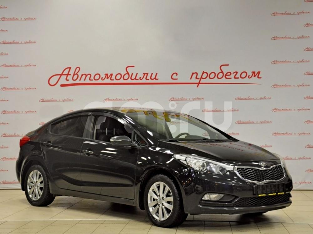 Kia Cerato с пробегом, черный , отличное состояние, 2013 года выпуска, цена 799 000 руб. в автосалоне NORTH-AUTO (Санкт-Петербург, пр-кт Маршала Блюхера, д. 54, корп. 1)