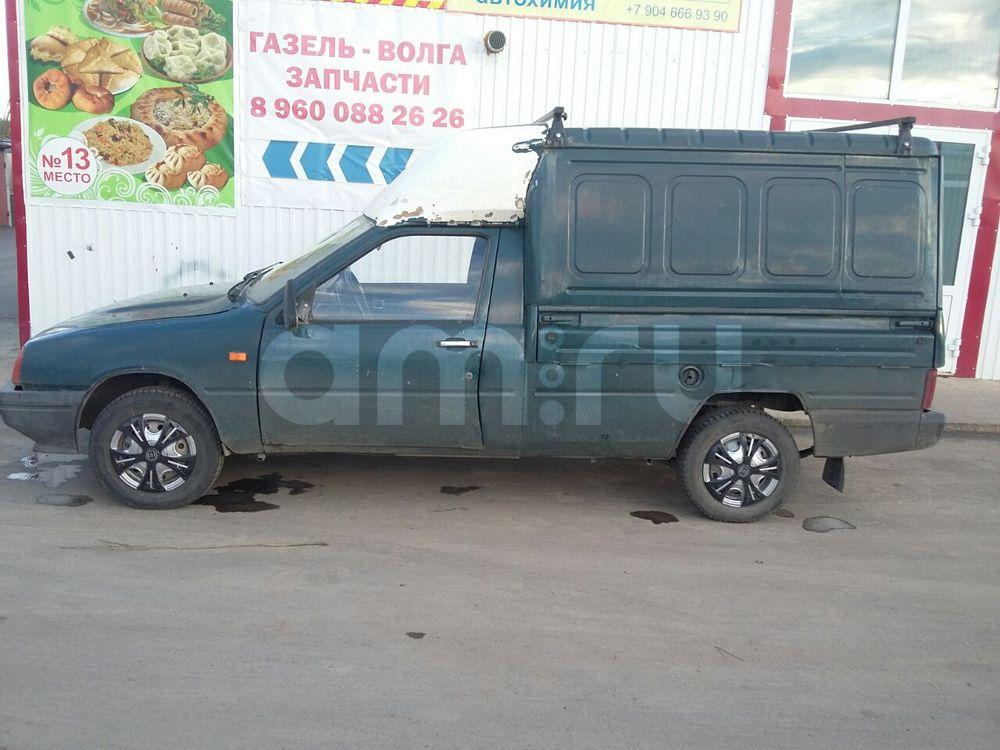 Подержанный ИЖ 2717, хорошее состояние, зеленый , 2002 года выпуска, цена 45 000 руб. в республике Татарстане