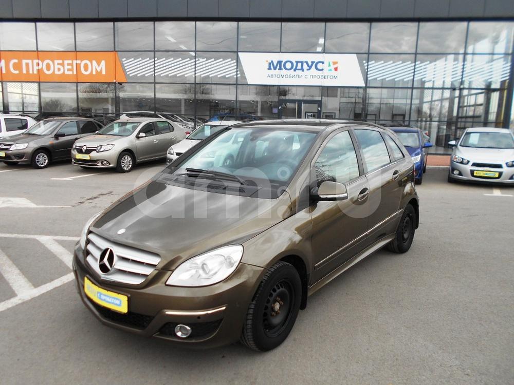 Mercedes-Benz B-Класс с пробегом, коричневый , отличное состояние, 2009 года выпуска, цена 450 000 руб. в автосалоне  ()