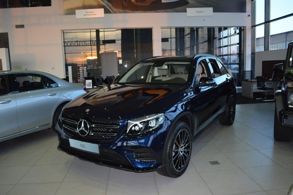 Новый авто Mercedes-Benz GLC-Класс, синий металлик, 2016 года выпуска, цена 3 866 687 руб. в автосалоне МБ-Орловка (Набережные Челны, тракт Мензелинский, д. 24)