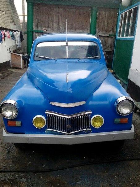 Подержанный ГАЗ М-20 Победа, хорошее состояние, синий акрил, 1956 года выпуска, цена 500 000 руб. в республике Татарстане