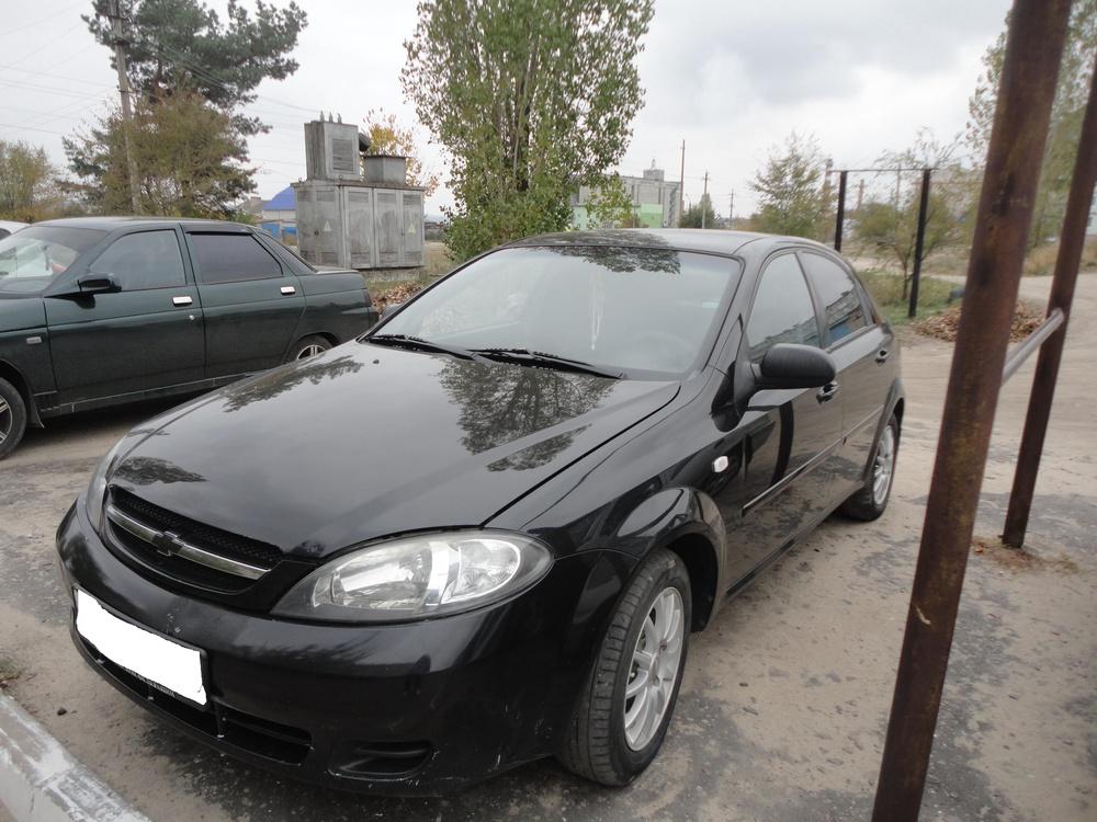 Подержанный Chevrolet Lacetti, хорошее состояние, черный , 2008 года выпуска, цена 270 000 руб. в Воронежской области