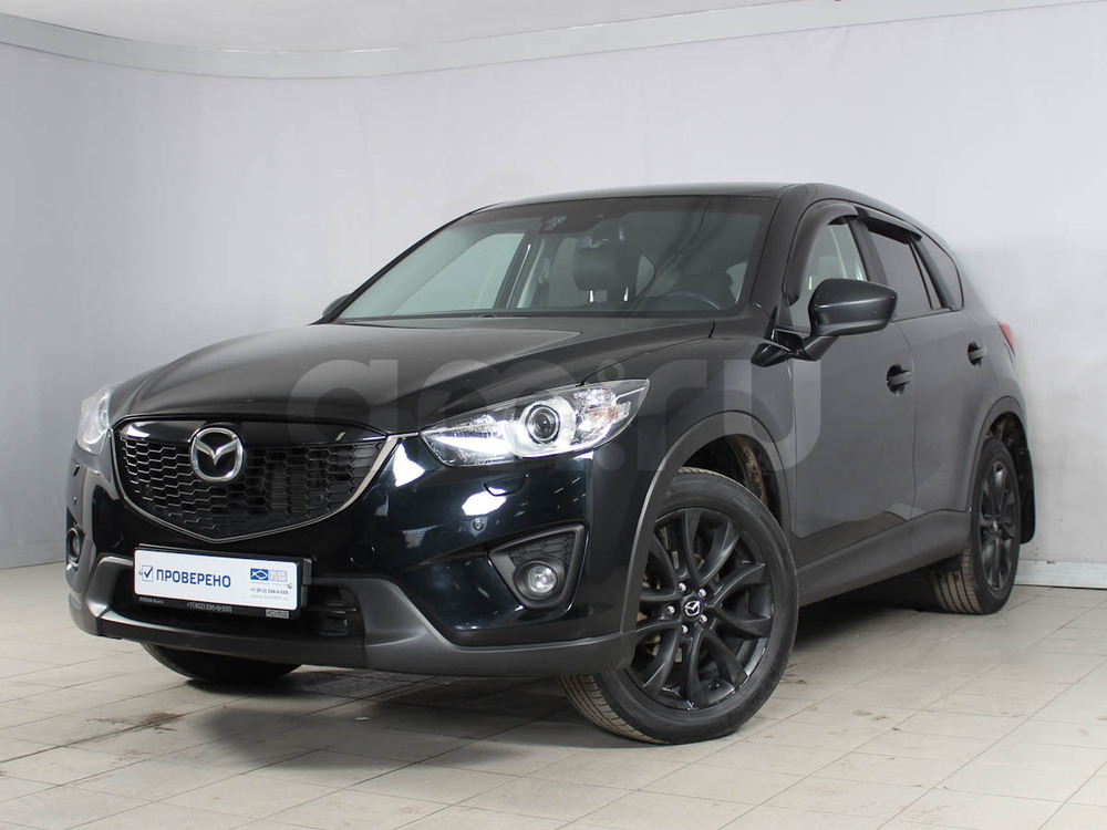 Mazda CX-5 с пробегом, черный , отличное состояние, 2013 года выпуска, цена 1 079 000 руб. в автосалоне РОЛЬФ Лахта Blue Fish (Санкт-Петербург, ул. Савушкина, д. 103)
