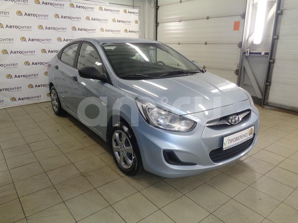 Hyundai Solaris с пробегом, серый металлик, отличное состояние, 2012 года выпуска, цена 415 000 руб. в автосалоне  ()