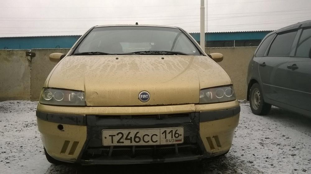Подержанный Fiat Punto, хорошее состояние, бронзовый , 2000 года выпуска, цена 120 000 руб. в республике Татарстане