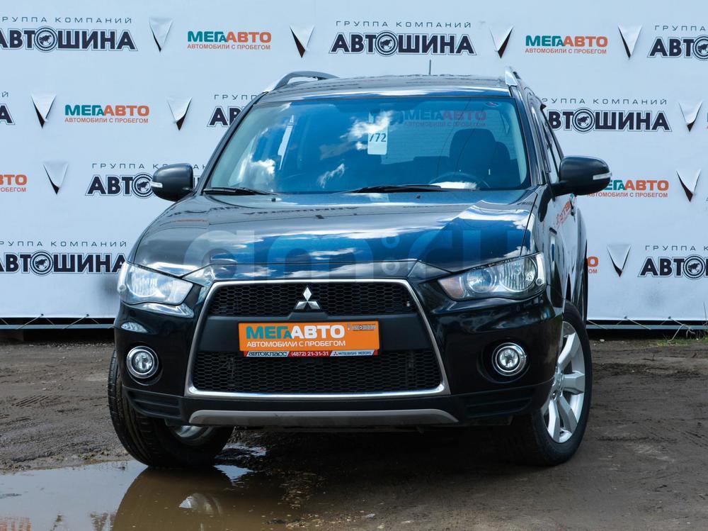 Mitsubishi Outlander с пробегом, черный , отличное состояние, 2010 года выпуска, цена 780 000 руб. в автосалоне Мега Авто Калуга (Калуга, ул. Зерновая, д. 28)