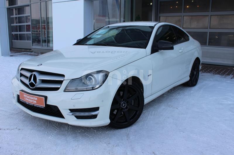 Mercedes-Benz C-Класс с пробегом, белый , отличное состояние, 2011 года выпуска, цена 1 040 000 руб. в автосалоне Автобан-Запад (Екатеринбург, ул. Металлургов, д. 67)