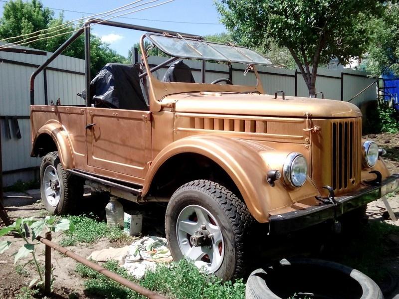 Подержанный ГАЗ 69, хорошее состояние, золотой , 1972 года выпуска, цена 150 000 руб. в Саратове