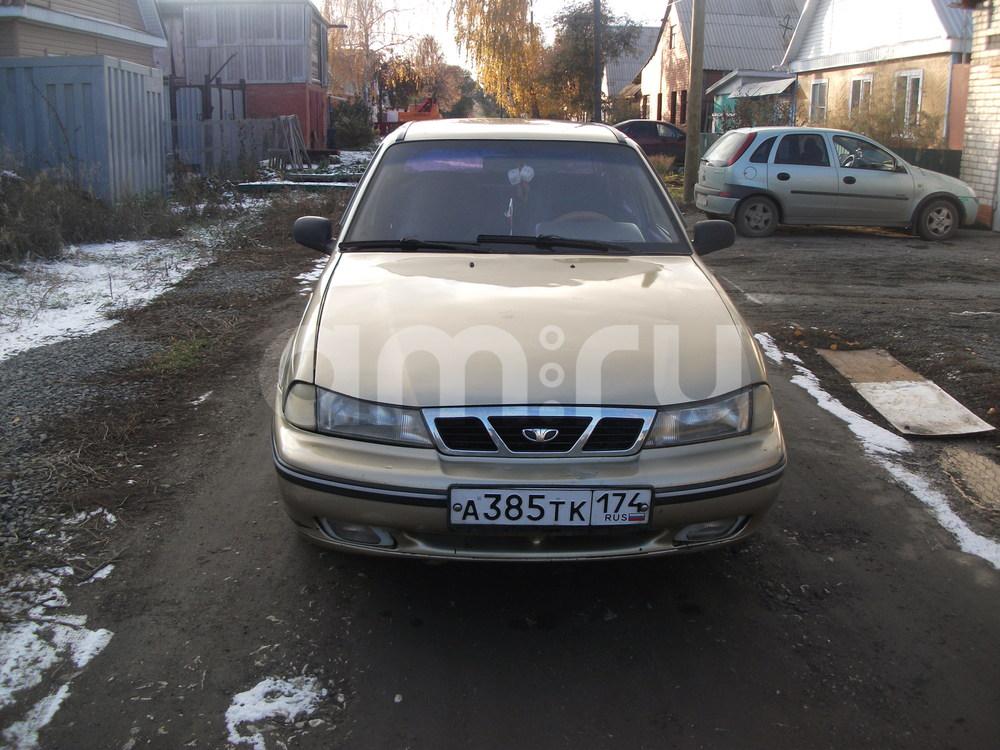 Подержанный Daewoo Nexia, отличное состояние, золотой металлик, 2007 года выпуска, цена 115 000 руб. в Челябинской области