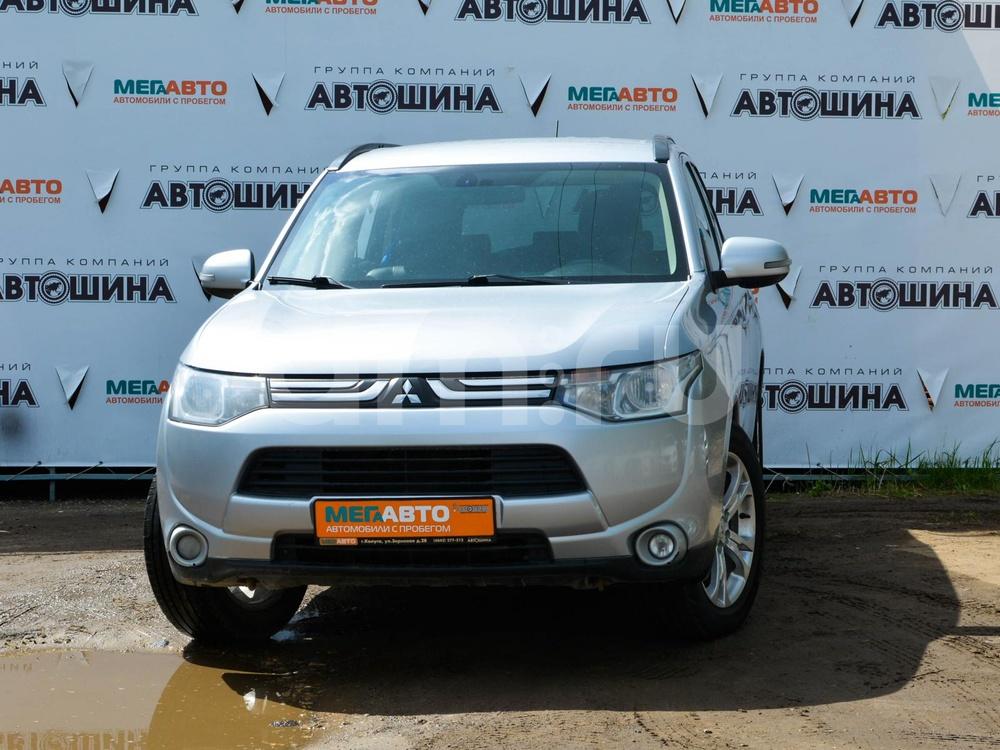 Mitsubishi Outlander с пробегом, серебряный , отличное состояние, 2012 года выпуска, цена 940 000 руб. в автосалоне Мега Авто Калуга (Калуга, ул. Зерновая, д. 28)