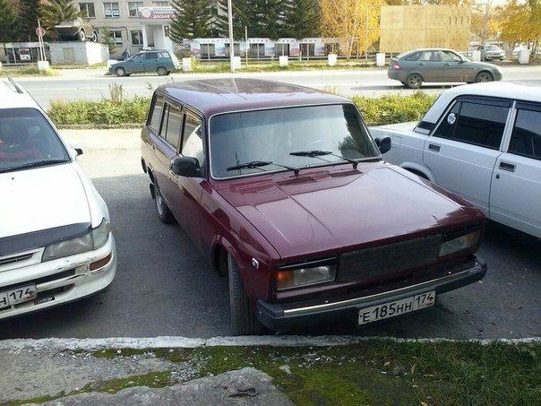 Подержанный ВАЗ (Lada) 2104, отличное состояние, бордовый акрил, 2011 года выпуска, цена 120 000 руб. в Челябинской области