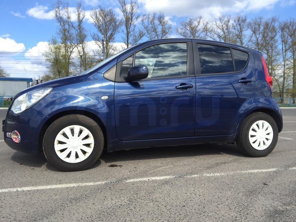 Подержанный Opel Agila, хорошее состояние, синий , 2008 года выпуска, цена 260 000 руб. в Твери