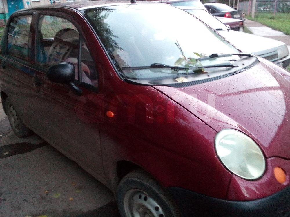 Подержанный Daewoo Matiz, хорошее состояние, бордовый , 2007 года выпуска, цена 70 000 руб. в республике Татарстане