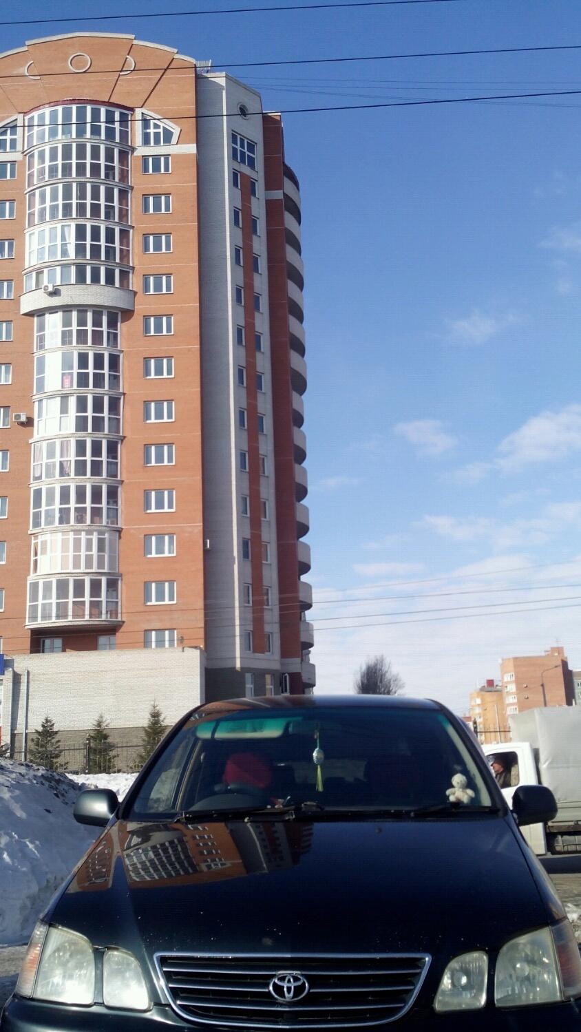 Подержанный Toyota Gaia, хорошее состояние, зеленый , 1998 года выпуска, цена 250 000 руб. в Омске