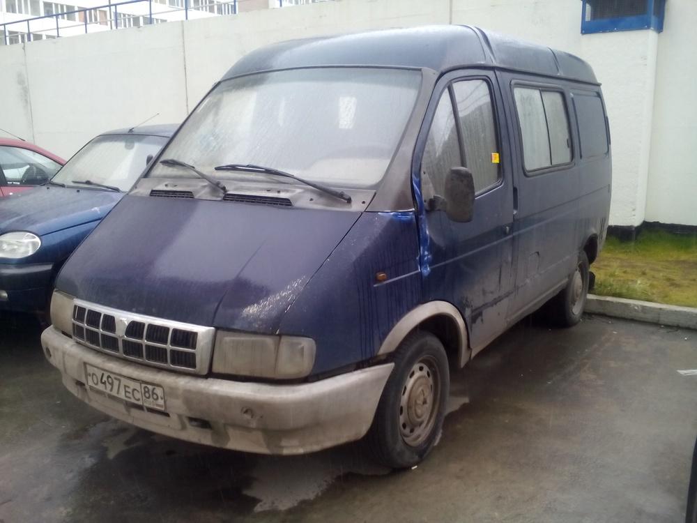 Подержанный ГАЗ Соболь, среднее состояние, синий , 1999 года выпуска, цена 80 000 руб. в ао. Ханты-Мансийском Автономном округе - Югре