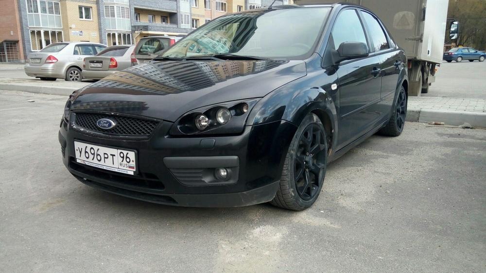 Подержанный Ford Focus, отличное состояние, черный , 2006 года выпуска, цена 315 000 руб. в Екатеринбурге