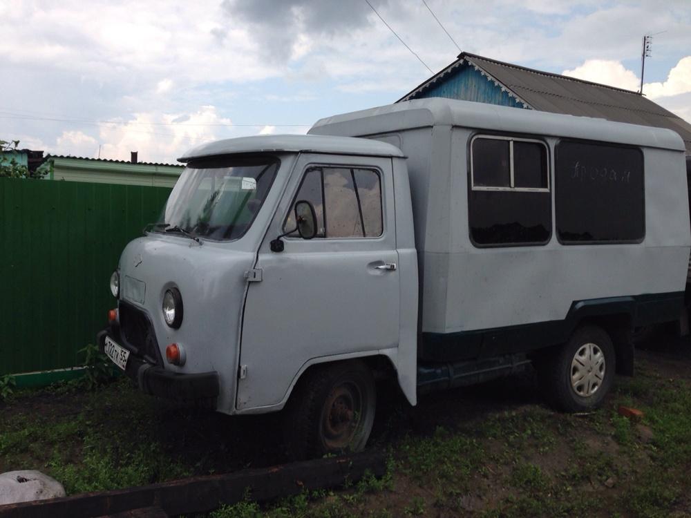 Подержанный УАЗ 3303, хорошее состояние, серый , 1992 года выпуска, цена 120 000 руб. в Омской области