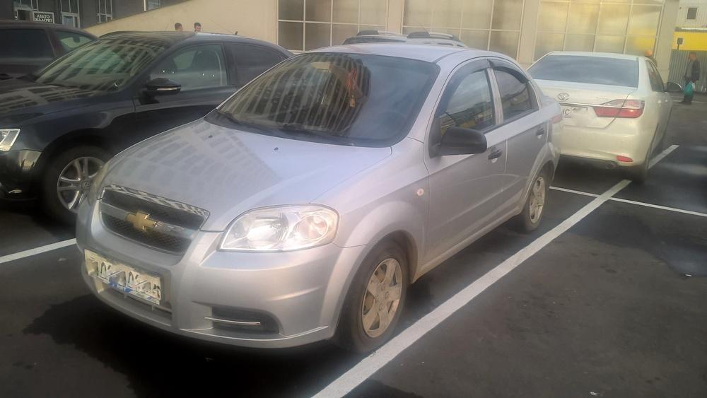 Подержанный Chevrolet Aveo, хорошее состояние, серебряный , 2007 года выпуска, цена 200 000 руб. в республике Татарстане