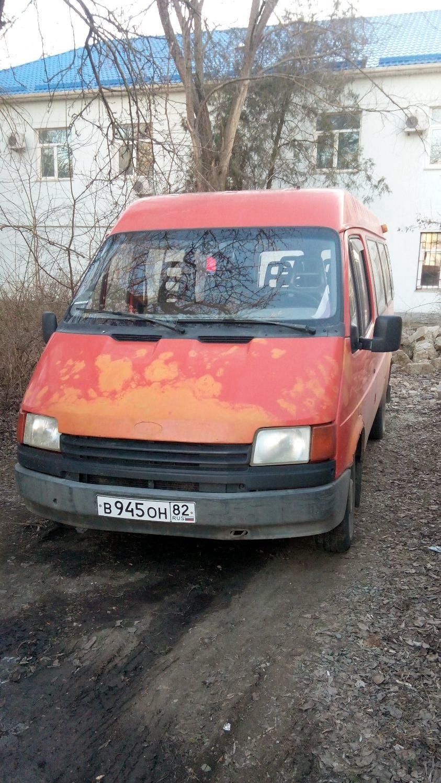 Подержанный Ford Transit, хорошее состояние, красный , 1991 года выпуска, цена 90 000 руб. в Крыму