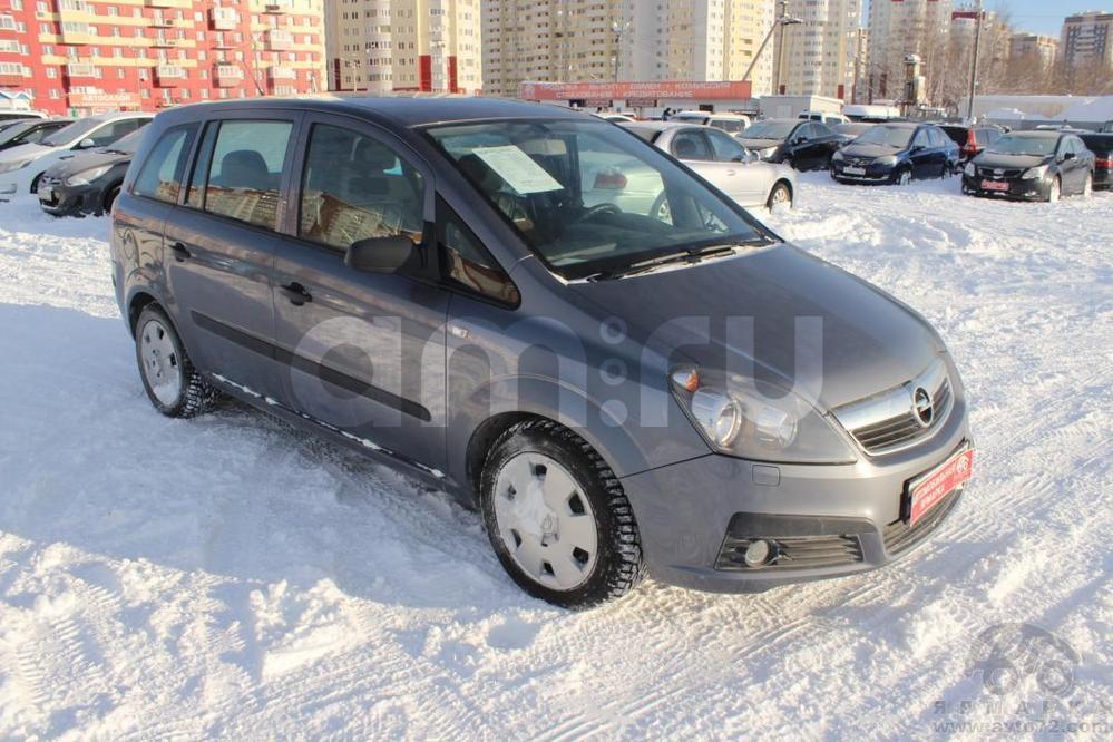 Opel Zafira с пробегом, серый , хорошее состояние, 2006 года выпуска, цена 405 000 руб. в автосалоне  ()