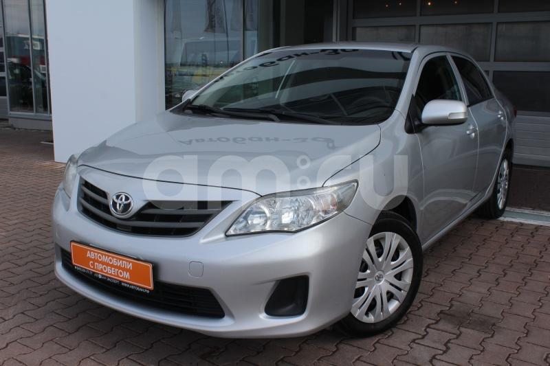 Toyota Corolla с пробегом, серый металлик, отличное состояние, 2012 года выпуска, цена 569 000 руб. в автосалоне Автобан-Запад (Екатеринбург, ул. Металлургов, д. 67)