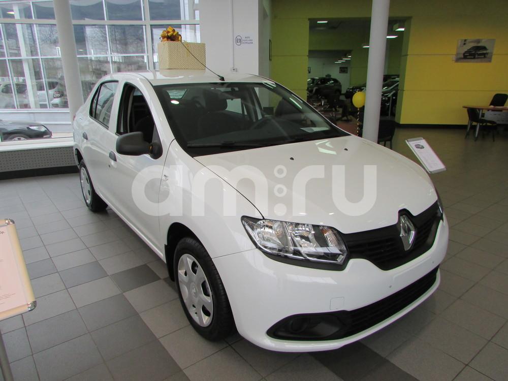 Renault Logan с пробегом, белый , отличное состояние, 2016 года выпуска, цена 569 000 руб. в автосалоне  ()
