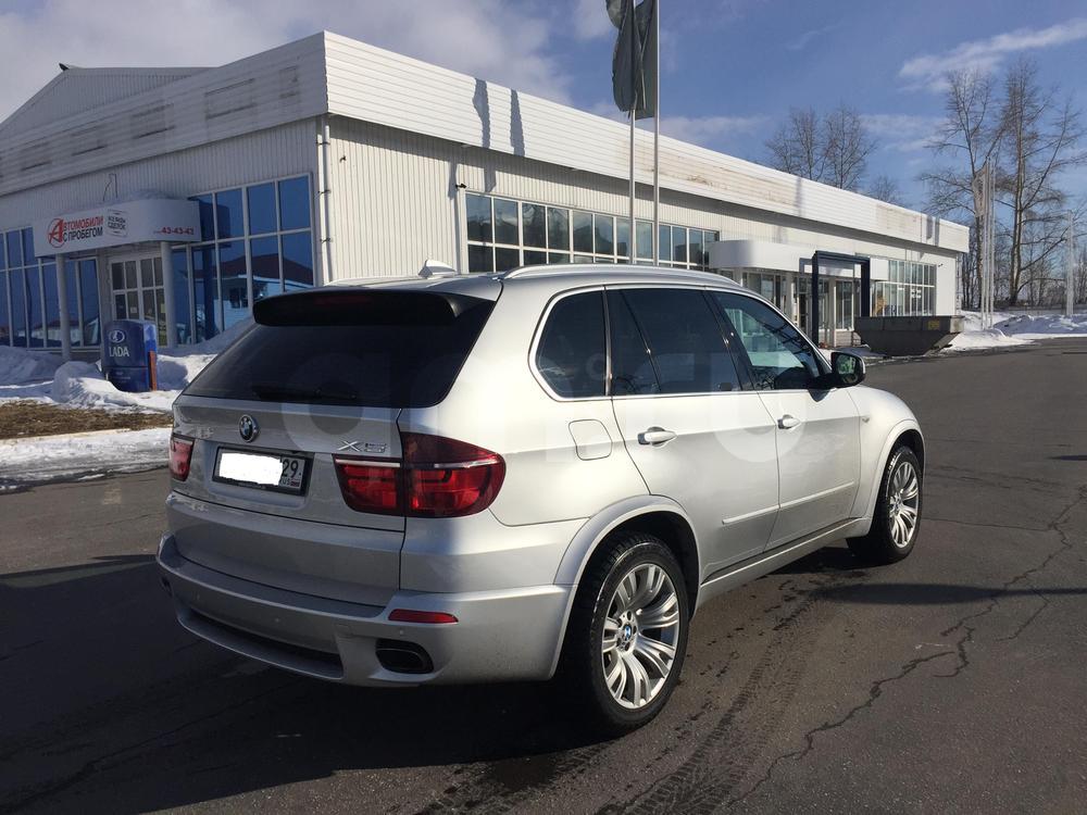 Подержанный BMW X5, отличное состояние, серебряный металлик, 2010 года выпуска, цена 1 580 000 руб. в Архангельске