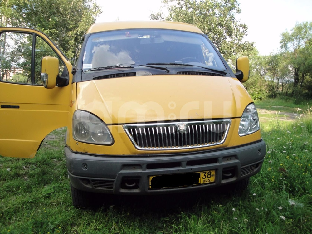 Подержанный ГАЗ Газель, отличное состояние, желтый , 2008 года выпуска, цена 150 000 руб. в Иркутской области