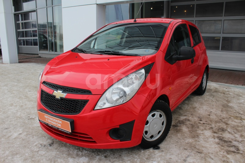 Chevrolet Spark с пробегом, красный , отличное состояние, 2011 года выпуска, цена 289 000 руб. в автосалоне Автобан-Запад (Екатеринбург, ул. Металлургов, д. 67)