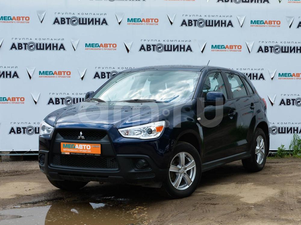 Mitsubishi ASX с пробегом, синий , отличное состояние, 2011 года выпуска, цена 645 000 руб. в автосалоне Мега Авто Калуга (Калуга, ул. Зерновая, д. 28)