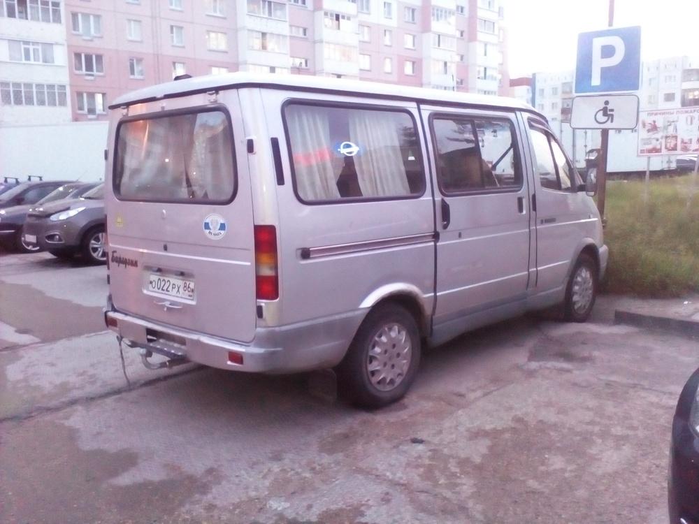 Подержанный ГАЗ Соболь, хорошее состояние, серебряный , 2003 года выпуска, цена 150 000 руб. в ао. Ханты-Мансийском Автономном округе - Югре