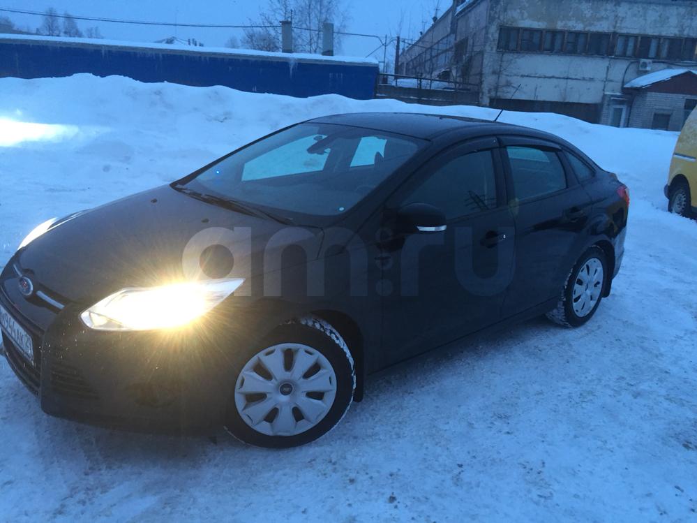 Подержанный Ford Focus, хорошее состояние, черный , 2013 года выпуска, цена 550 000 руб. в Архангельске