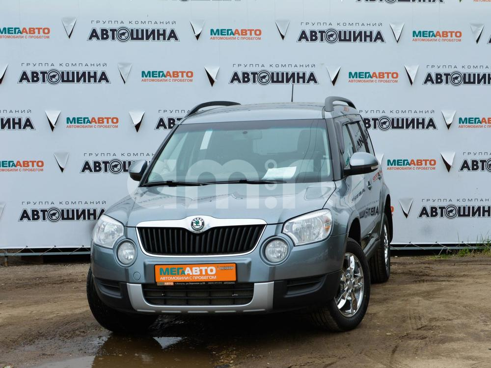 Skoda Yeti с пробегом, серый , отличное состояние, 2012 года выпуска, цена 550 000 руб. в автосалоне Мега Авто Калуга (Калуга, ул. Зерновая, д. 28)