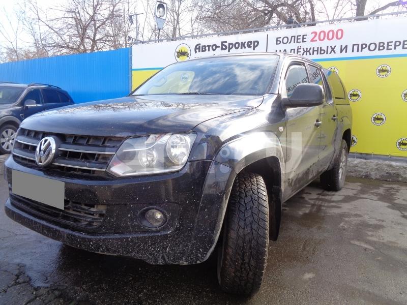 Volkswagen Amarok с пробегом, черный , отличное состояние, 2011 года выпуска, цена 910 000 руб. в автосалоне Авто-Брокер на Антонова-Овсеенко (Самара, ул. Антонова-Овсеенко, д. 51Ж)