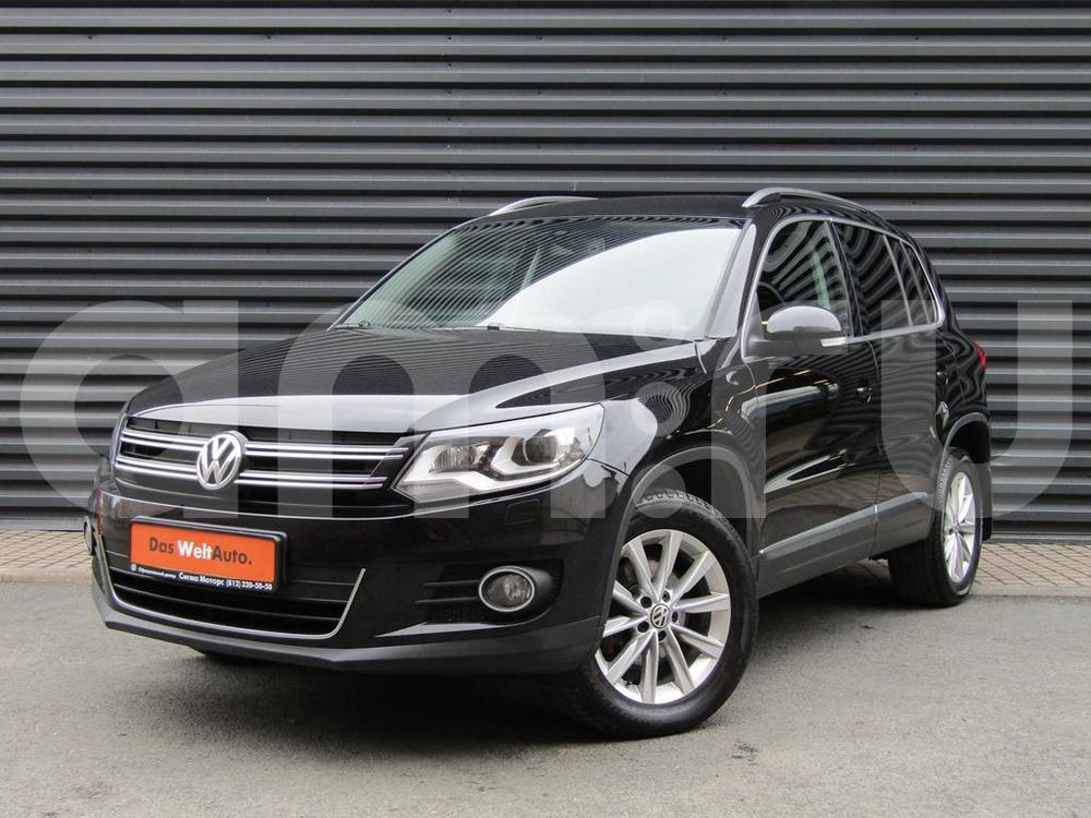 Volkswagen Tiguan с пробегом, черный металлик, отличное состояние, 2013 года выпуска, цена 947 000 руб. в автосалоне  ()