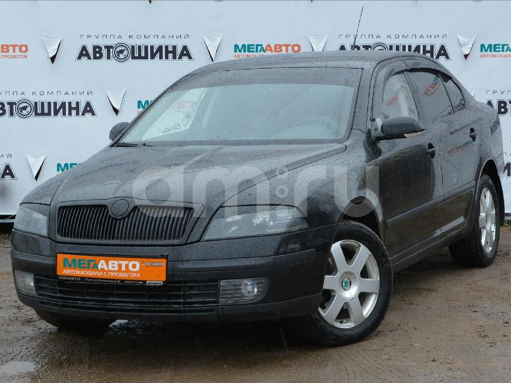 Skoda Octavia с пробегом, черный , отличное состояние, 2006 года выпуска, цена 335 000 руб. в автосалоне Мега Авто Калуга (Калуга, ул. Зерновая, д. 28)