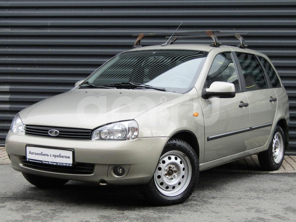 ВАЗ (Lada) Kalina с пробегом, бежевый металлик, хорошее состояние, 2012 года выпуска, цена 247 600 руб. в автосалоне  ()