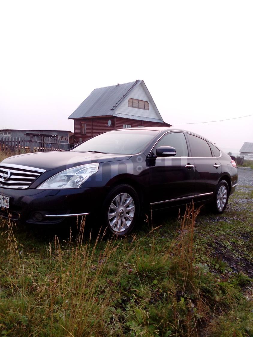 Подержанный Nissan Teana, хорошее состояние, черный металлик, 2008 года выпуска, цена 630 000 руб. в Челябинской области