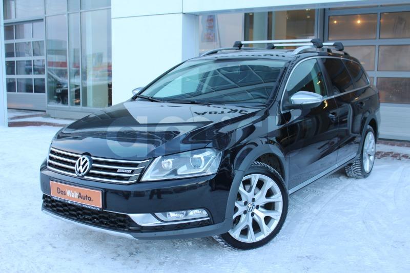 Volkswagen Passat с пробегом, черный , отличное состояние, 2013 года выпуска, цена 1 249 000 руб. в автосалоне Автобан-Запад (Екатеринбург, ул. Металлургов, д. 67)