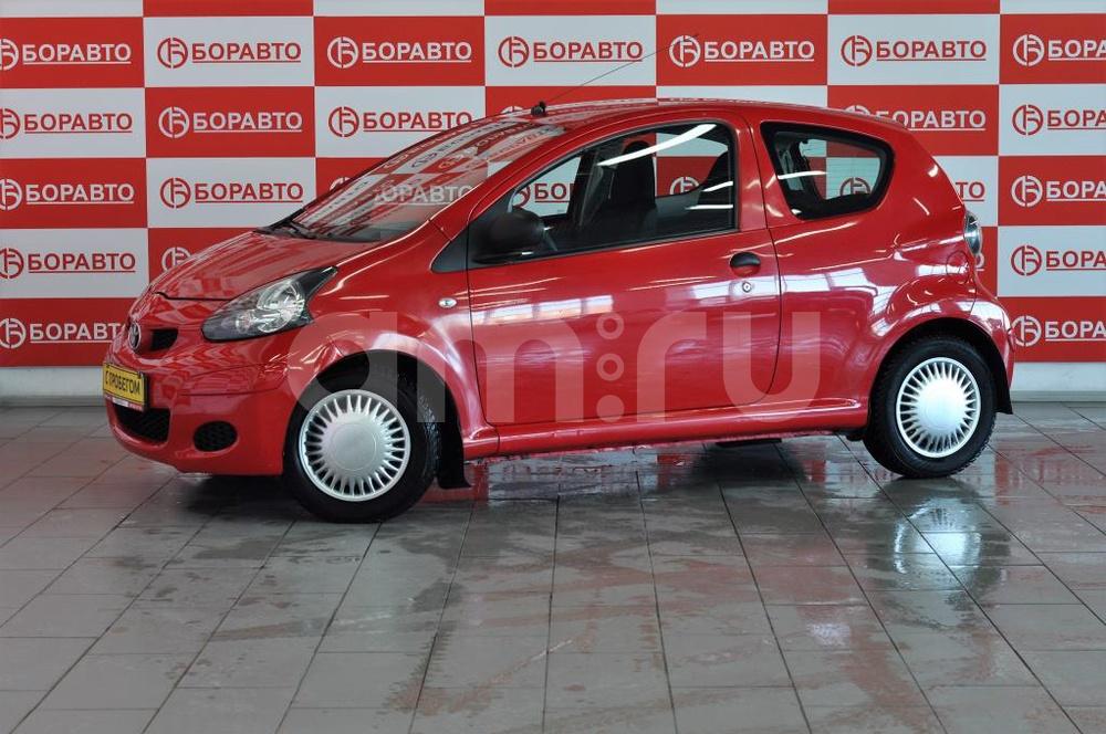 Toyota Aygo с пробегом, красный , отличное состояние, 2009 года выпуска, цена 180 000 руб. в автосалоне БОРАВТО Эксперт Борисоглебск (Борисоглебск, ул. Матросовская, д. 127)