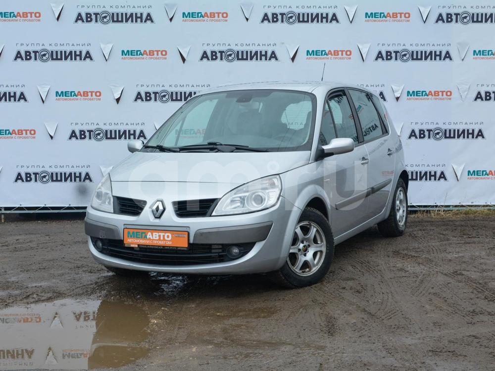 Renault Scenic с пробегом, серебряный , отличное состояние, 2007 года выпуска, цена 245 000 руб. в автосалоне Мега Авто Калуга (Калуга, ул. Зерновая, д. 28)
