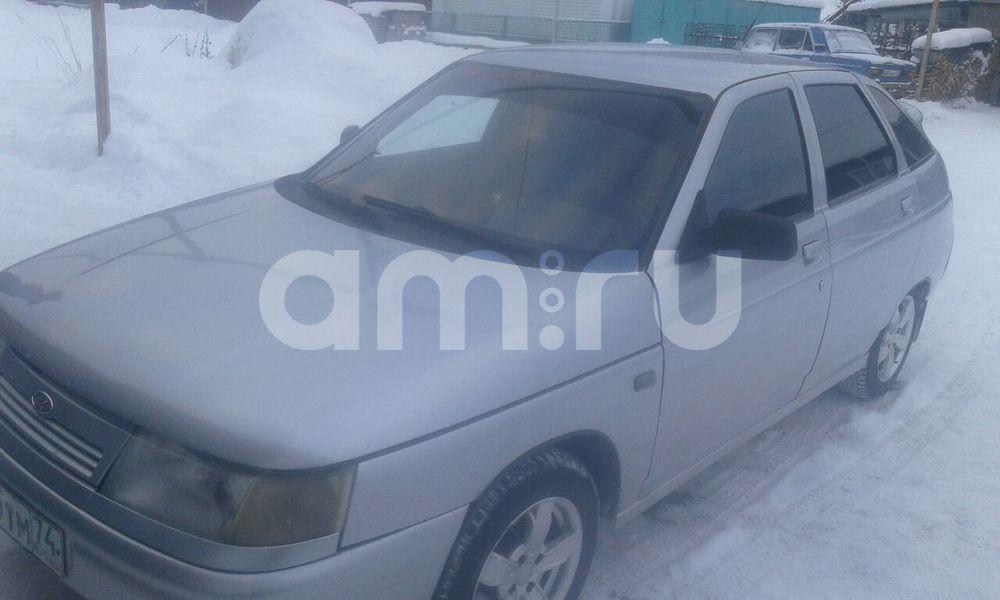 Подержанный ВАЗ (Lada) 2112, хорошее состояние, серебряный металлик, 2005 года выпуска, цена 115 000 руб. в Челябинской области