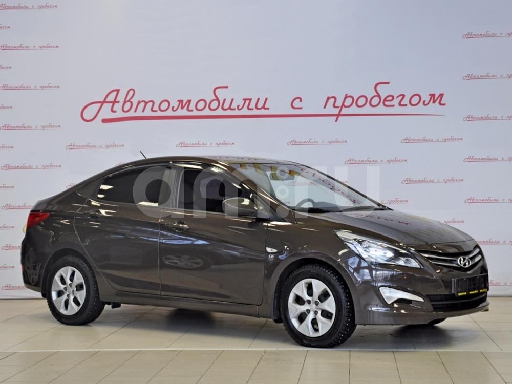 Hyundai Solaris с пробегом, коричневый перламутр, отличное состояние, 2015 года выпуска, цена 525 000 руб. в автосалоне NORTH-AUTO (Санкт-Петербург, пр-кт Маршала Блюхера, д. 54, корп. 1)
