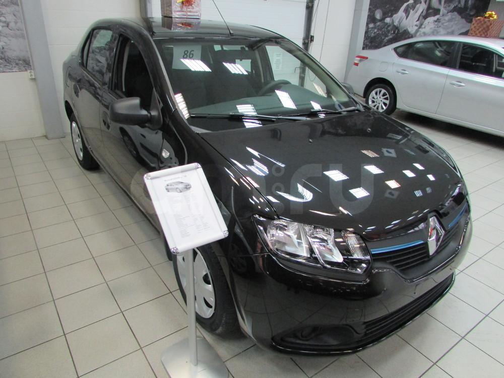 Renault Logan с пробегом, черный металлик, отличное состояние, 2016 года выпуска, цена 436 000 руб. в автосалоне  ()