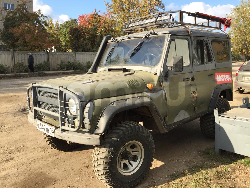 Подержанный УАЗ 3151, отличное состояние, зеленый матовый, 1995 года выпуска, цена 350 000 руб. в республике Татарстане