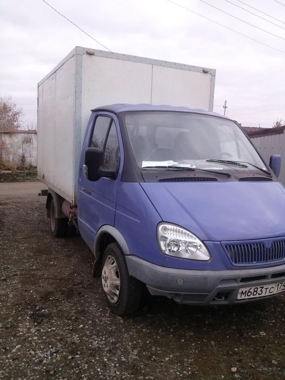 Подержанный ГАЗ Газель, среднее состояние, белый , 2007 года выпуска, цена 250 000 руб. в Челябинской области