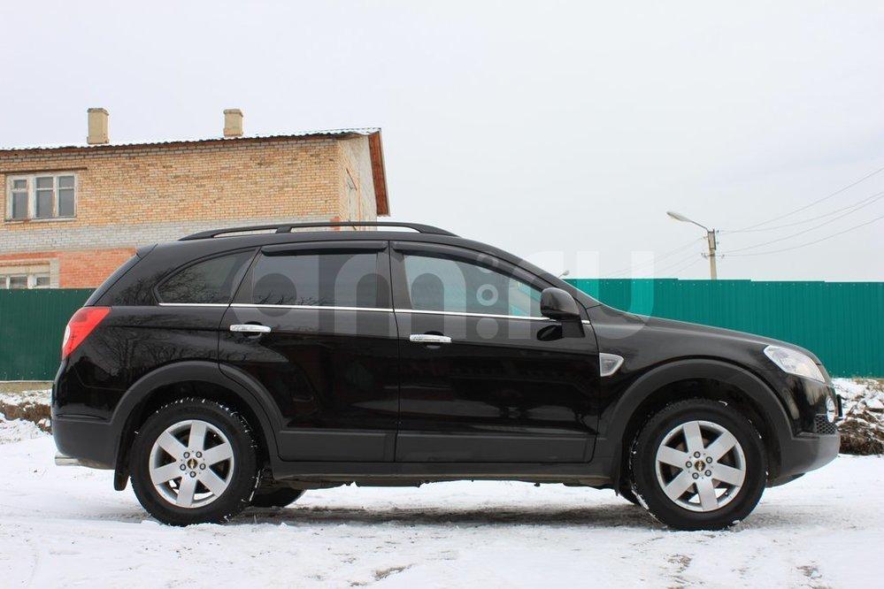 Подержанный Chevrolet Captiva, отличное состояние, черный , 2011 года выпуска, цена 1 160 000 руб. в ао. Ханты-Мансийском Автономном округе - Югре